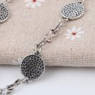 New Fashion Lucky Honeycomb Style Charms Hand Chain Bracelet Jewelry Gift FE