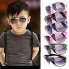 Child Cool Children Boys Girls Kids Plastic Frame Sunglasses Goggles FE