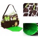Carter Multi Function Baby Diaper Nappy Bag Giraffe Print Lovely Durable FE