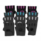 Sport Cycling Gym Half Finger Weightlifting Black M Gloves Exercise Training FE