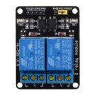 5V 2 Channel Relay Module Shield For Arduino ARM PIC AVR DSP MCU Electronic GP