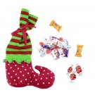 Christmas Socks Elf Boots Candy Bags Party Home Decor Gifts Present Filler FE