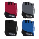 BaseCamp Bike Half Finger Cycling Gloves Fingerless Sport Short Gloves Red FE