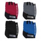 BaseCamp Bike Half Finger Cycling Gloves Fingerless Sport Short Gloves Red DF