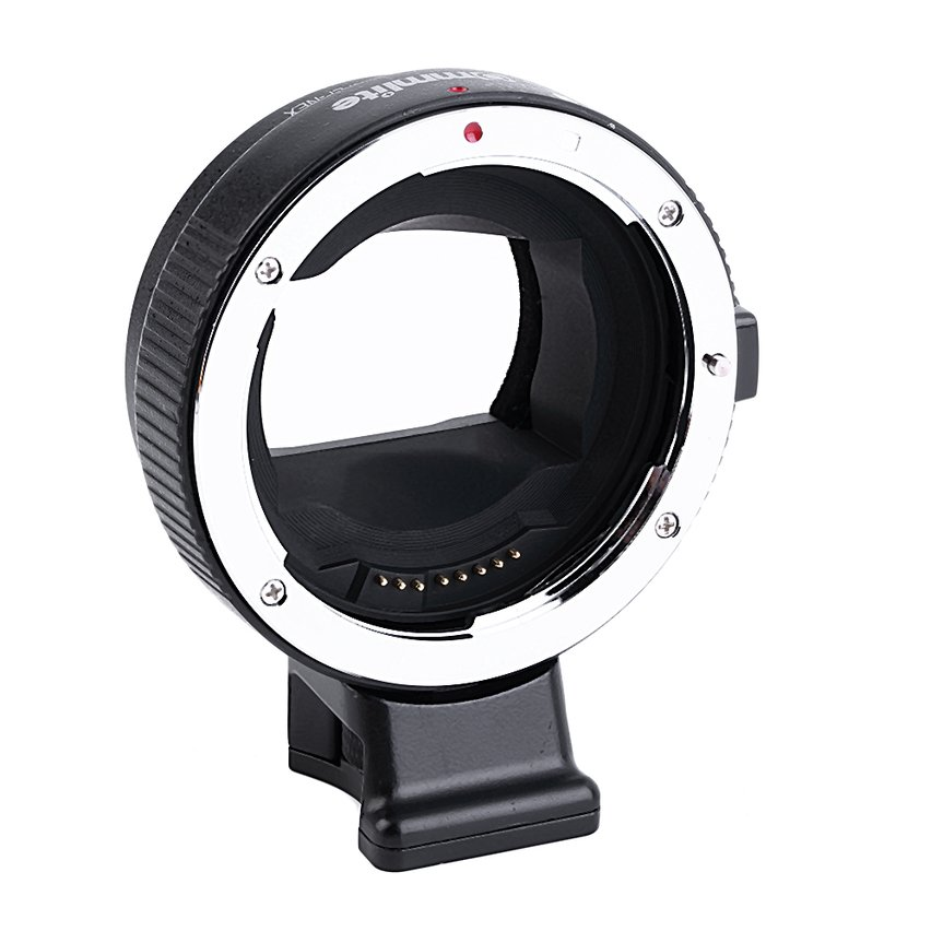 Auto Focus Mount Adapter EF-NEX for Canon EF to Sony NEX A7 A7R A7S A6000 FE