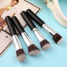 4 pcs Makeup Blush + 6 Colors' Contour Palette Brush Face Powder Cosmetic kit FE