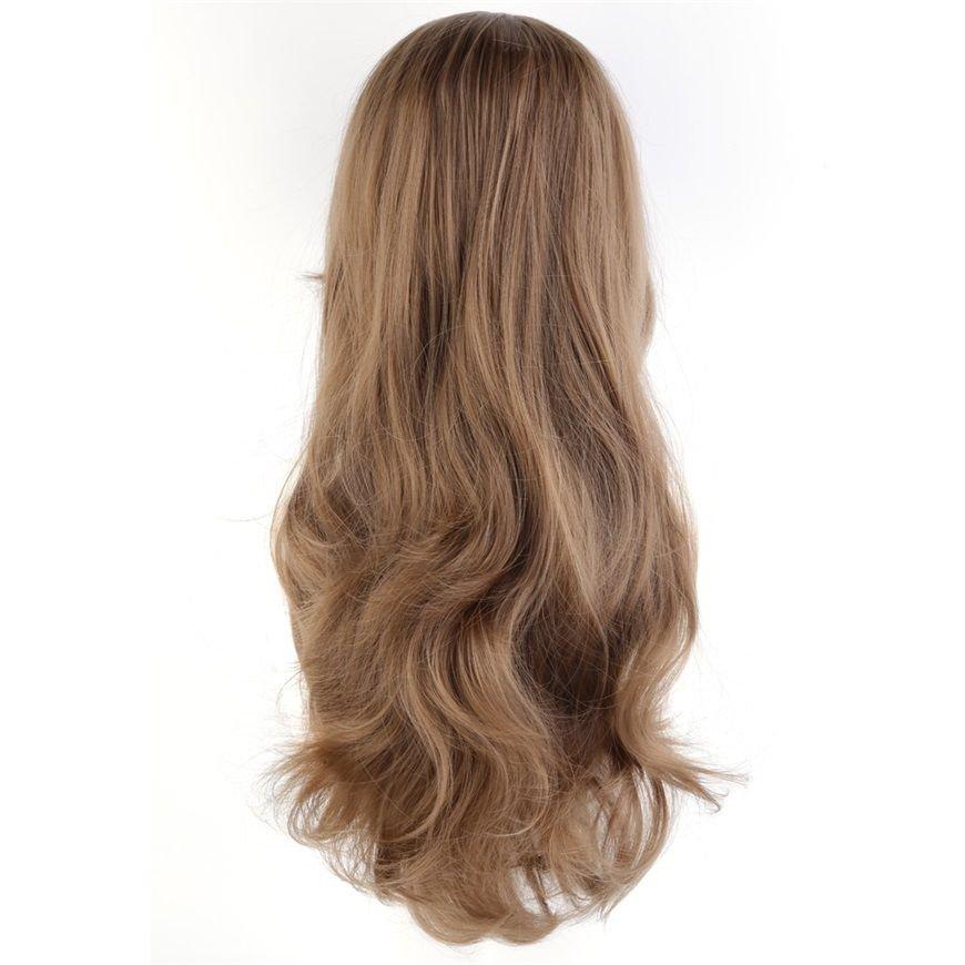 Anime wigs air volume High temperature curly hair silk wig cosplay 70CM EF