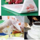 100PCS Disposable Bags Icing Nozzle Fondant Cake Decorating Pastry Tool FE