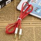 AUX jack 3,5mm Jack mâle plat câble extension audio Auxiliaire pour iPhone MP3
