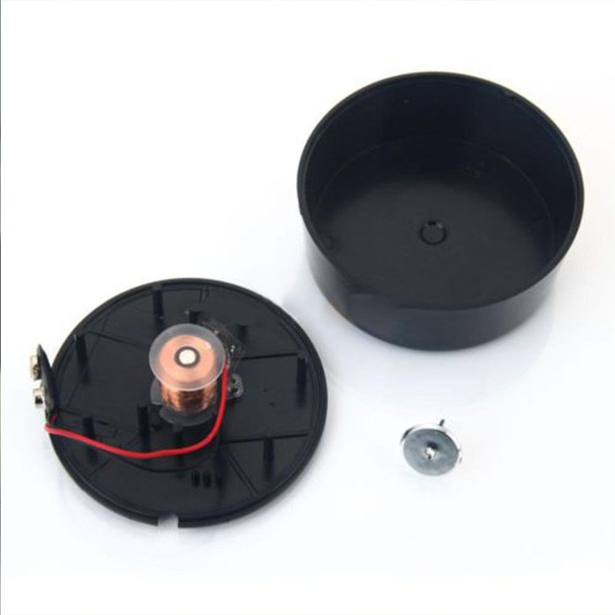 Circular Shape Magnetic Rotary Gyro Black Special Gifts for Children Toy FE