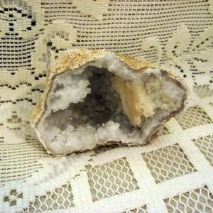 Crystal Geode from Peru, 3.50 Inches, Calcite