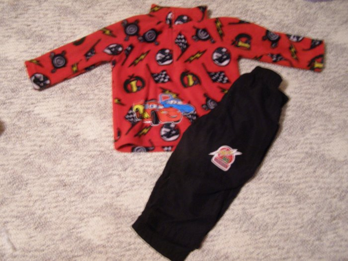 Disney Cars 2 pc outfit 18 months
