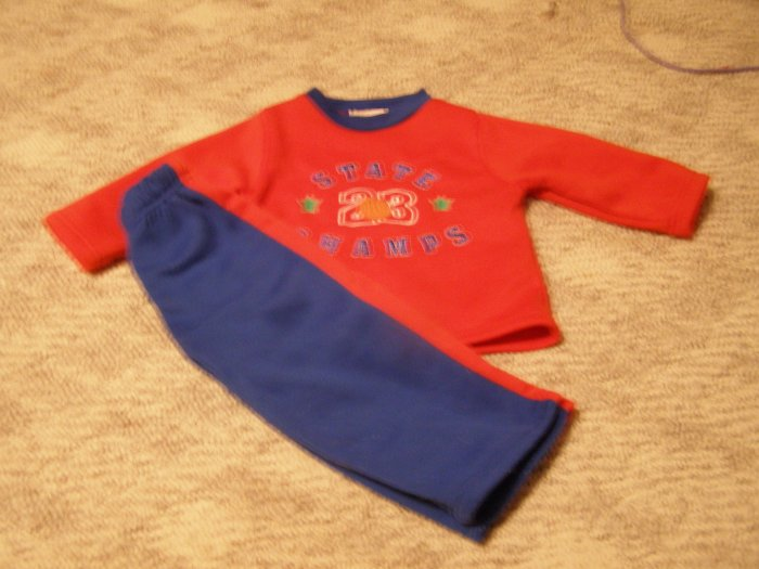 Big Cheese 2 pc outfit 18 months