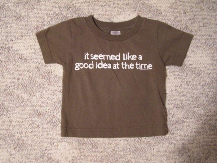 Now & Zen T-shirt 18 months