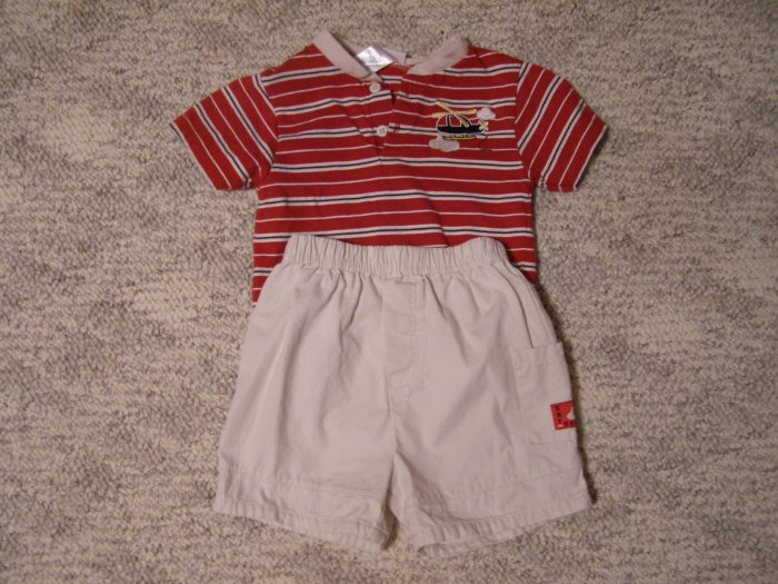 Okie Dokie Short Set 18 months