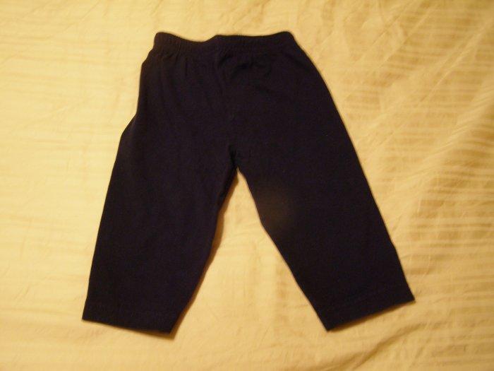 Kid Connection Blue Cotton Pants 12 months