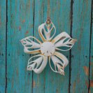 Flower Ornament - (Can Cut) Sea Shells, Shell Art