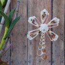 Palm Tree ~ Cut Seashell Ornament (Str Cut)