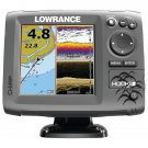 LOWRANCE 000-12657-001 Hook-5 Mid/High/DownScan(TM) US/Can Nav+ Fishfinder