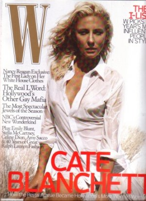 Cate Blanchett W Magazine 10/07 Thick issue NR
