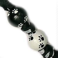 Adorable Handpainted Puppy Dog Love Paws Keychain