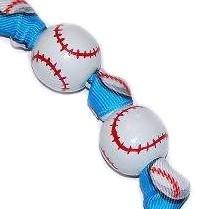 Handpainted Baseball Sports Keychain