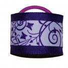 Cute Purple Butterfly Hair Cuffs