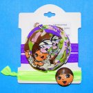 Safari Dora Inspired Handmade Flower Foe Elastic Headband & Matching Hair Tie