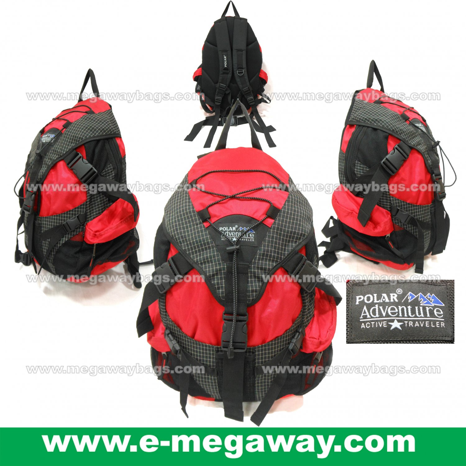 Polar Adventure Surf Cycle Snowboard Skate Ski Backpack Day Pack MegawayBags #CC-0977