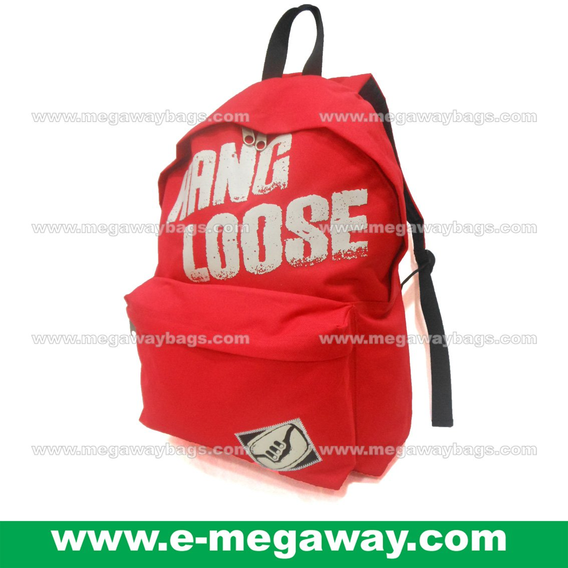 Hang Loose Backpack Nylon Backpack Rucksack Day Pack Sports Outdoor MegawayBags #CC- 0982A