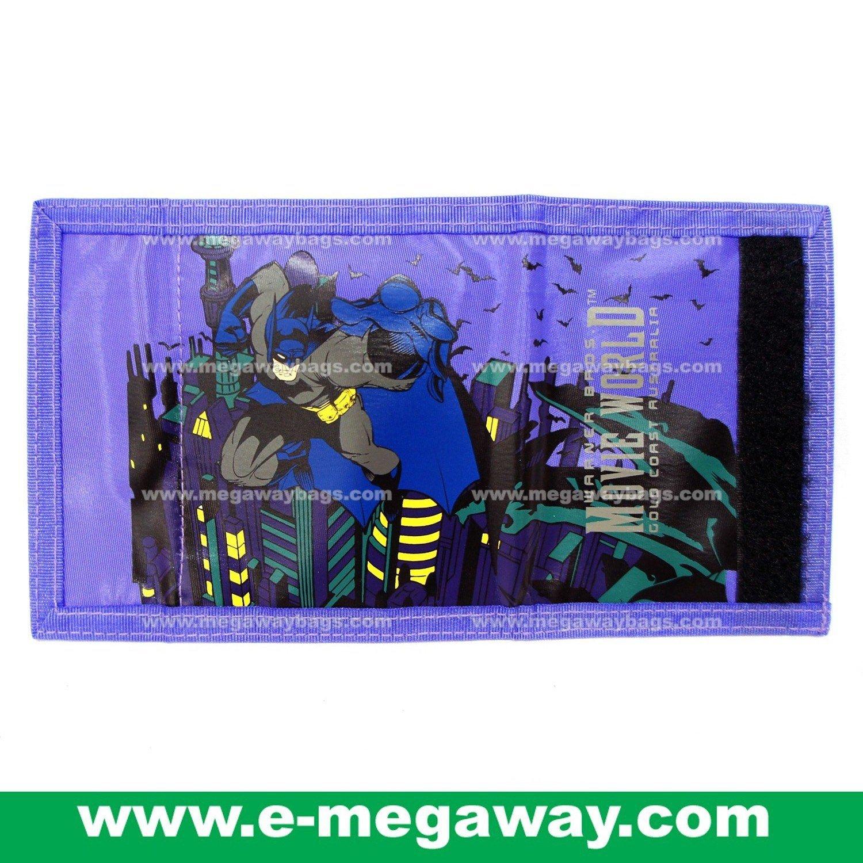 Original Movie World Batman Wallets Purses Warner Bros Disney Boys MegawayBags #CC- 0645
