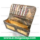 Designer Imitation Snake Skin Purses Wallet Coins Zip Pouch Money MegawayBags #CC- 0322