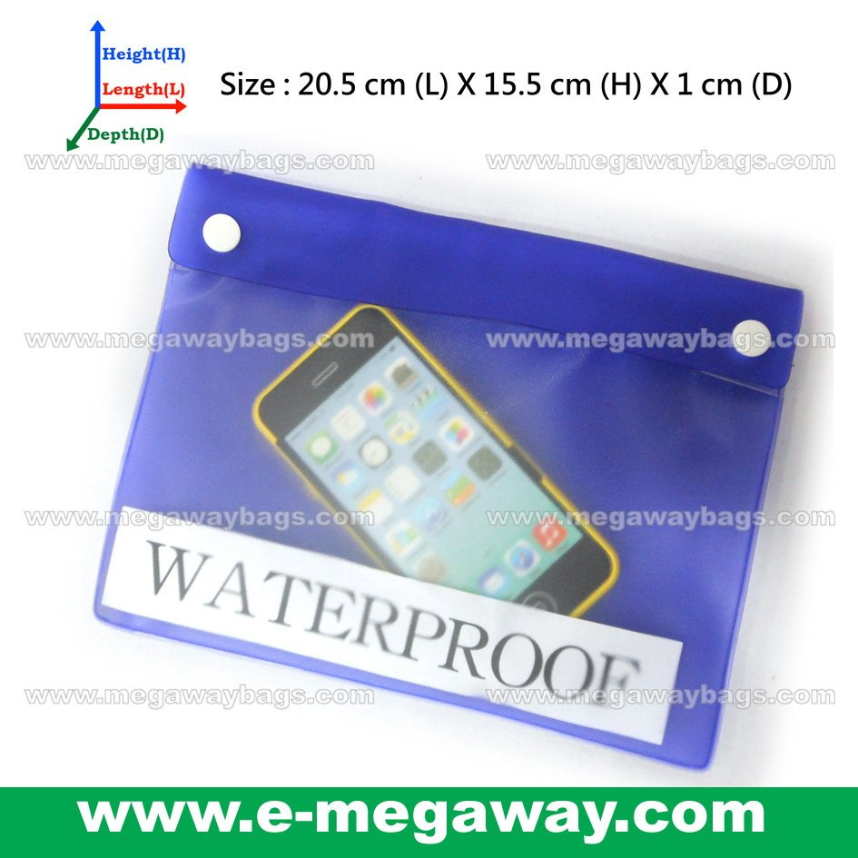 Water Sports Waterproof Phone Bag Key Wallet Card Pouch See Through MegawayBags #CC-0335