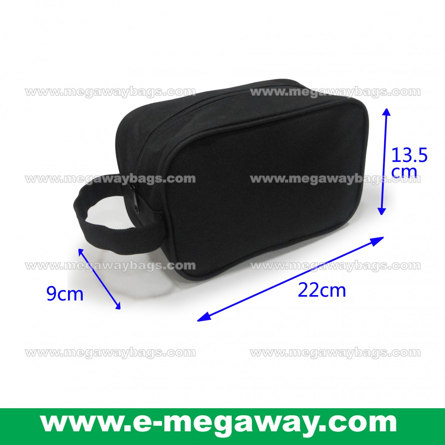 Unisex Travel Amenity Beauty Makeup Bag Purses Cosmetic Spa Pouch MegawayBags #CC-0973A
