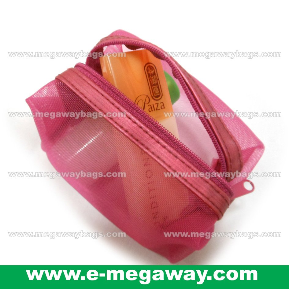 See Through Beauty Purses Zips Lipstick Cosmetic Organizer Pouch By MegawayBags #CC-0342