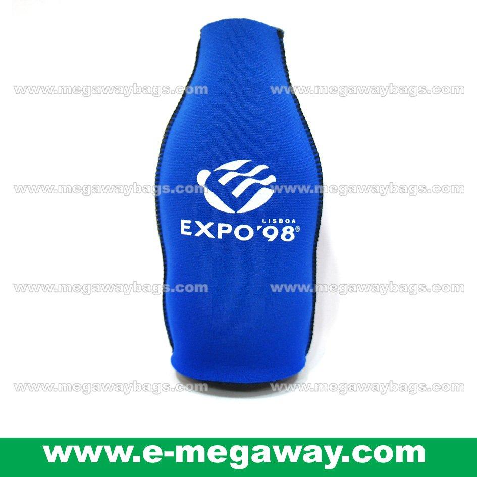 EXPO Neoprene Bag Wine Juice Drinks Water Bottle Cooler Sleeve Thermo MegawayBags #CC-0594