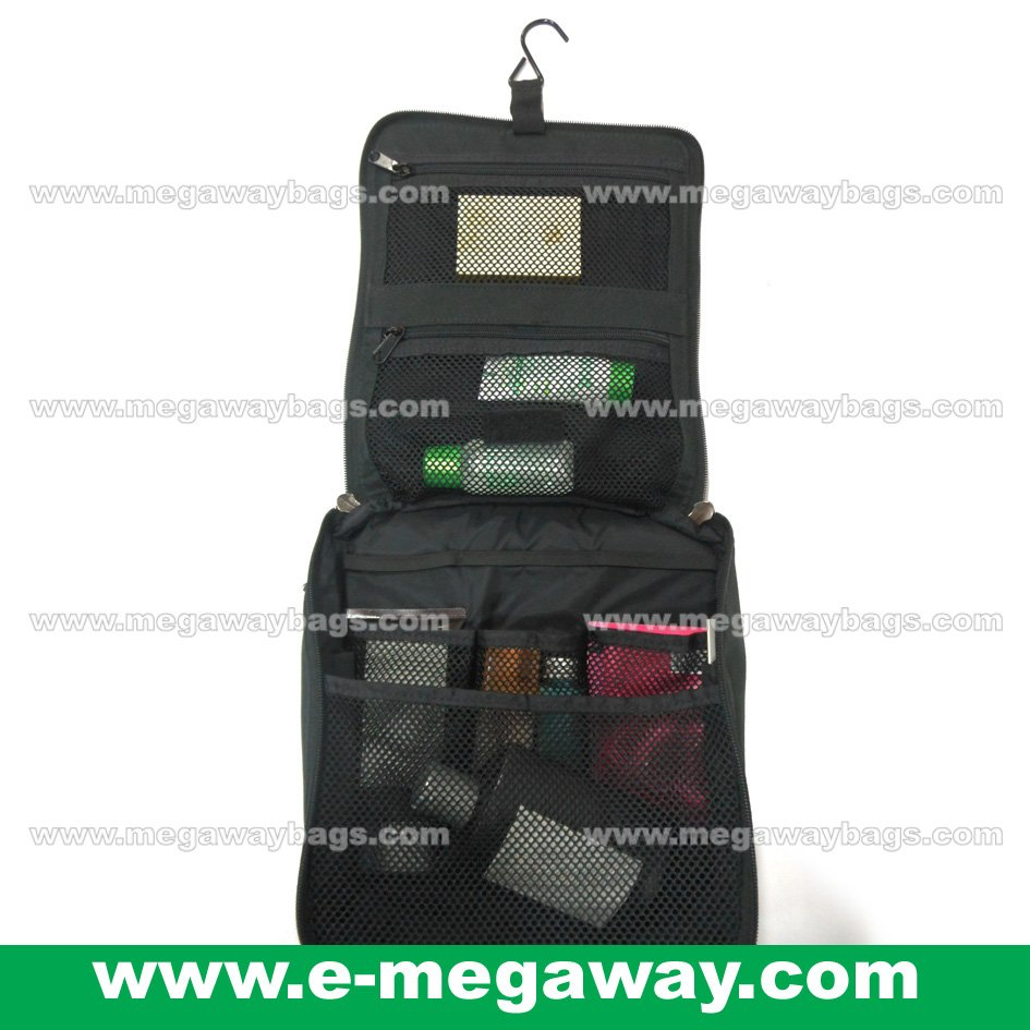 Quiksilver Travel Toiletary Amenity Organizer Cosmetic Make Up Beauty MegawayBag #CC-0270
