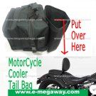 Cooler Motor Cycle Luggage Saddle Tail Trunk Bag Touring Racing Bike MegawayBags #CC-0038