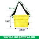 B.Young Neon Yellow Unisex Handbags Waist Bags Fanny Pack Tote Purse MegawayBags #CC-0912