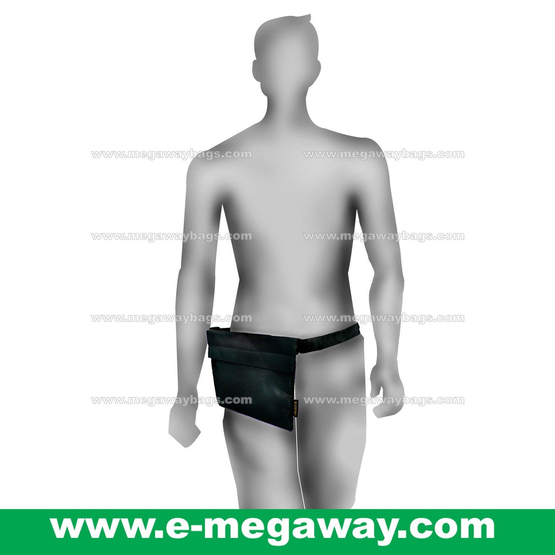 B.Young Neon Black Unisex Handbags Waist Bags Fanny Pack Tote Purse MegawayBags #CC-0913