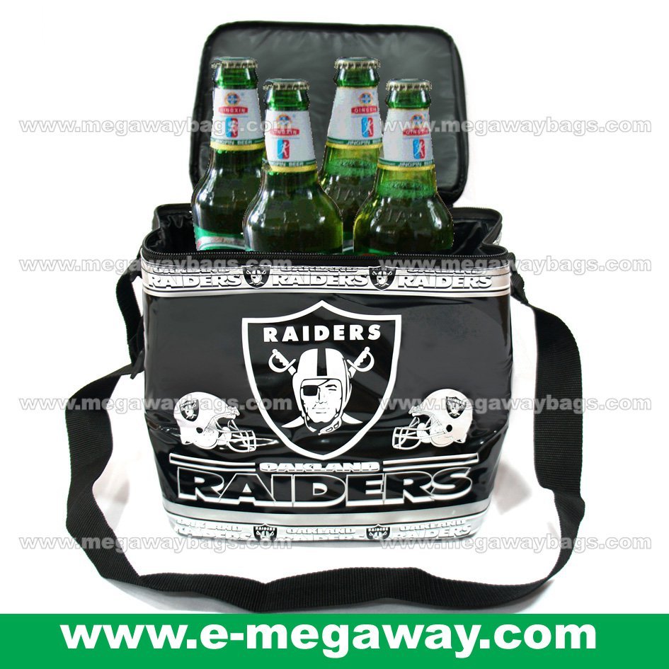 Oakland Raiders Fans Bag Lunch Cans Food Sandwiches Cooler Thermos Gift MegawayBags #CC-0611