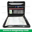 Executive Leather Zipper Binders Briefcases Portfolios Case Organizer MegawayBags #CC-0943