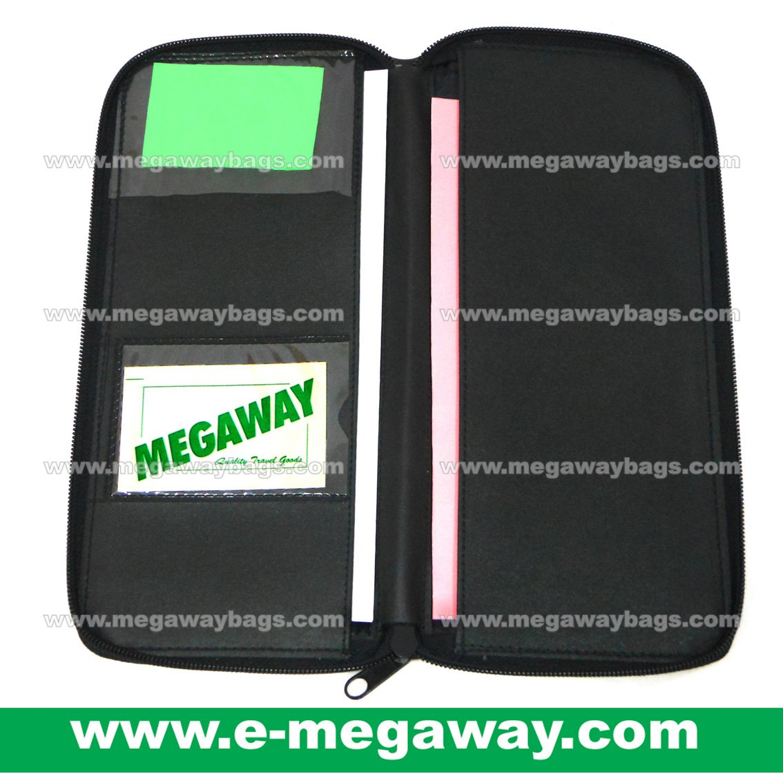 Travel Wallets Bag Money Air Tickets Credit Cards Passport Organizer MegawayBags #CC-0933A-7282