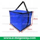 Cooler Bag Insulated Foamed Freezed Fold-Up Drinks Pizza Lunch Picnic MegawayBags #CC-0996