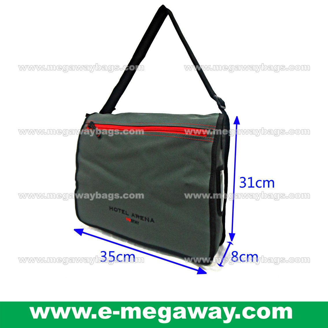 Hotel Arena Travel Shoulder Bag Folder Portfolios Messenger Promotion MegawayBags #CC-0997