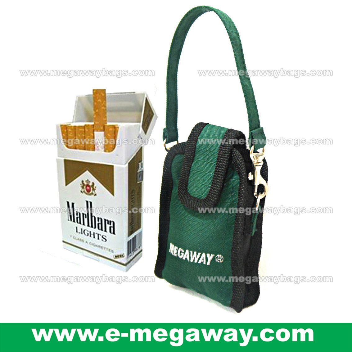 Cigar Cigarette Gifts Detachable Bags Boxes Case Pouch Smoker Travel MegawayBags #CC-1050
