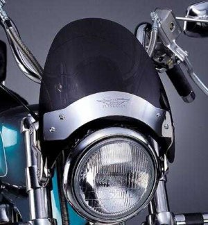 NATIONAL CYCLE DARK SMOKE FLYSCREEN WINDSHIELD Fits HARLEY-DAVIDSON All FX