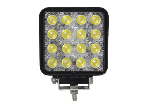 4.5 inch 48W LED Work Light Flood Spot 16X3W 3500lm Tractor Off road Car 4X4 4WD Fog Lamps 12V 24V