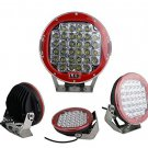 96W 9inch CREE LED RED Driving Spot Work Light 4WD Offroad