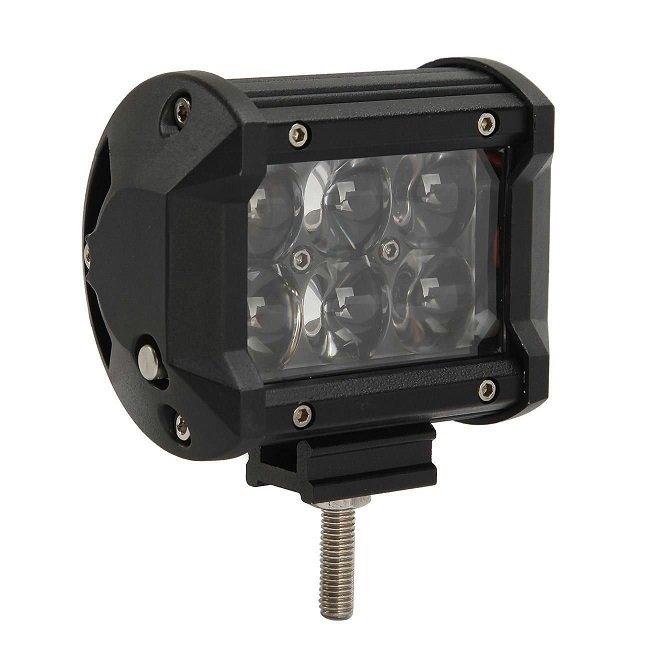 2pcs 4 inch 30W Osram LED Light Bar 12V 24V Spot 4D 4x4 Car SUV Motorcycle DRL LED BAR Driving Light